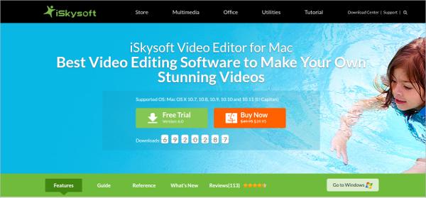 iskysoft video editor1