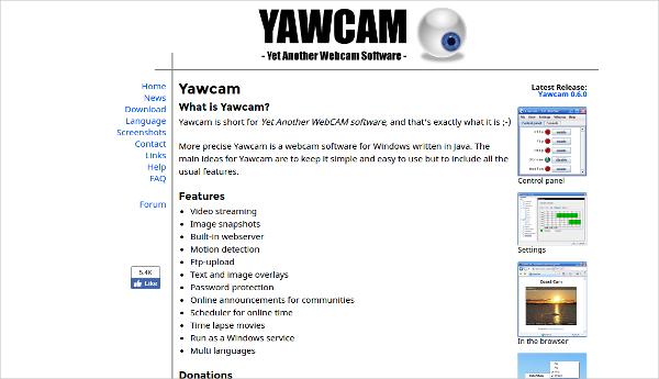 yawcam