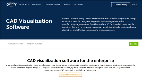 actify cad visualization software