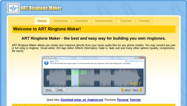 art ringtone maker