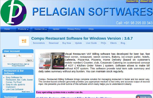 compu restaurant software