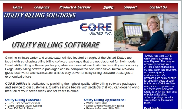 core utilities