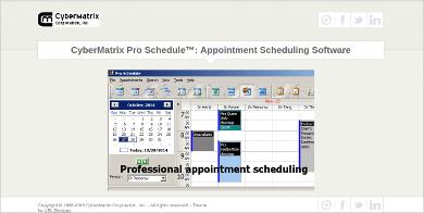 cybermatrix pro schedule