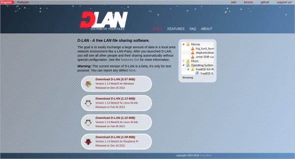 d lan