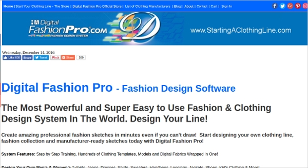 14 Best Clothing Design Software Free Download For Windows Mac Android Downloadcloud