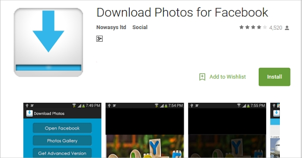 download photos for facebook