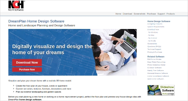 dreamplan home design software