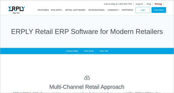 erply retail erp software