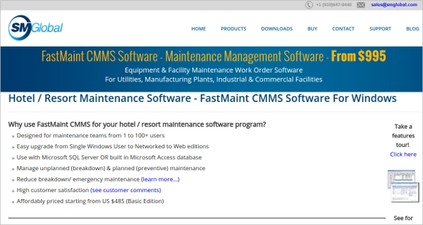 fastmaint cmms software