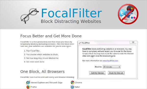 focal filter