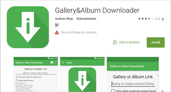 galleryalbum downloader
