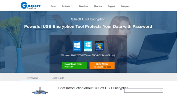 gilisoft usb encryption