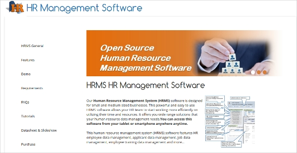 hrms hr management software