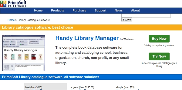 handy library manager1