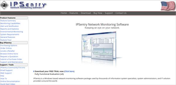 ipsentry network monitoring