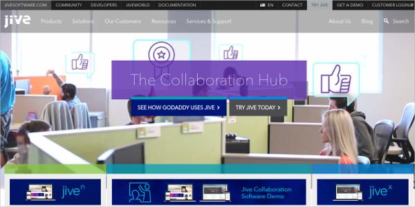 jive the collaboration hub