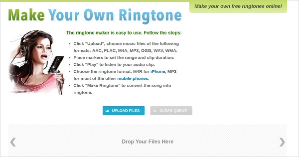 make your own ringtone