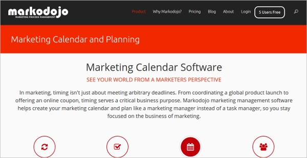 marketing calendar software