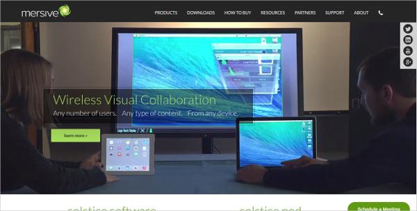 mersive wireless visual collaboration