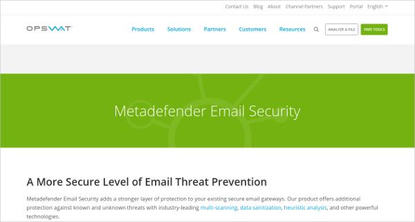 metadefender email security