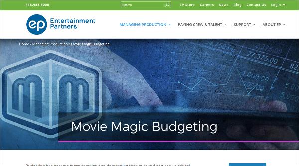 movie magic budgeting