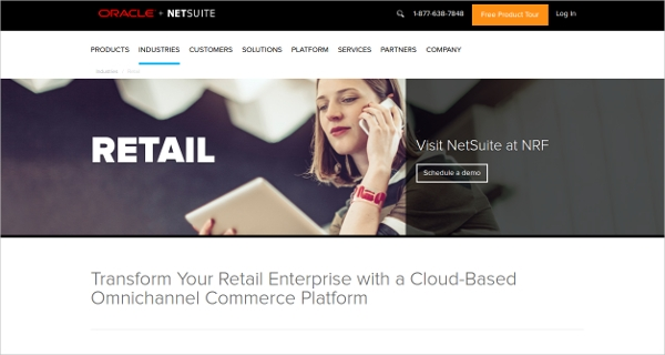 netsuite for retailers