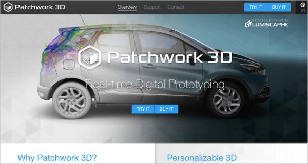patchwork 3d