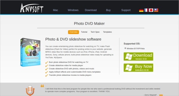 photo dvd slideshow software