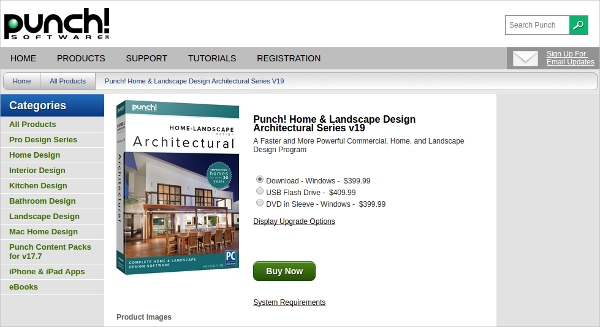 punch home landscape design architectural series v19