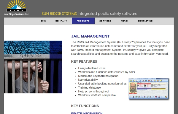 rims jail management