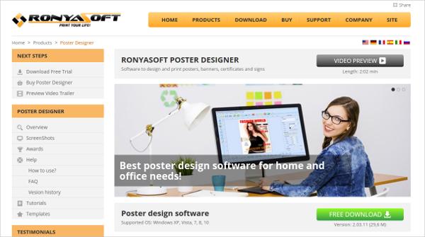 ronyasoft poster designer