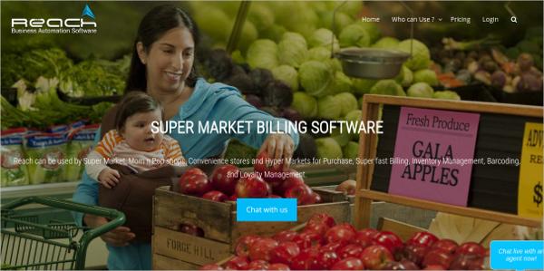 reach supermarket billing