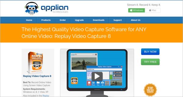 replay video capture 8
