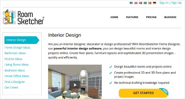 Room Sketcher Interior Design