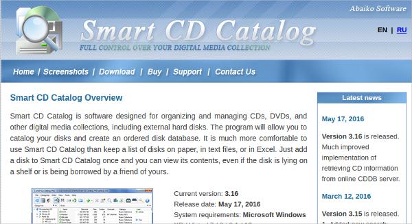 smart cd catalog