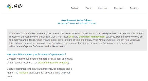 smart document capture software