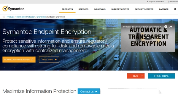 symantec endpoint encryption