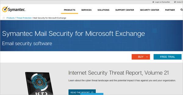 symantec mail security