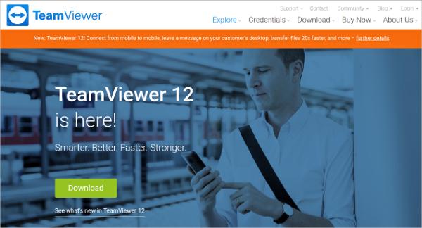 teamviewer 121