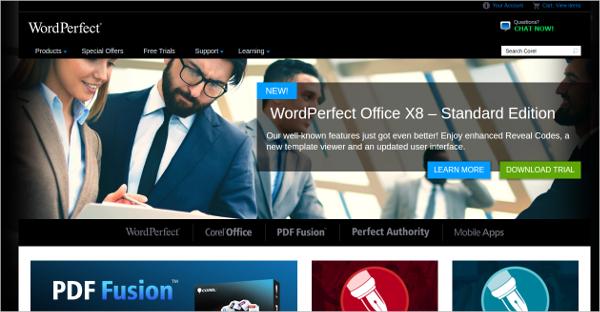wordperfect office x8