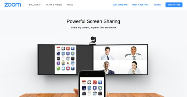 zoom powerful screen sharing