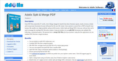 adolix split merge pdf most popular software