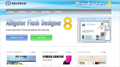 Alligator Flash Designer 8