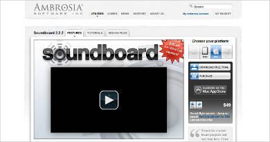 ambrosia soundboard software