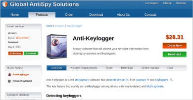 anti keylogger