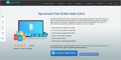 apowersoft free online audio editor
