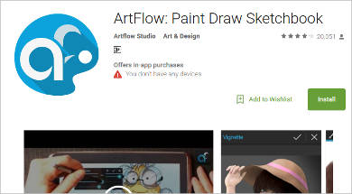 artflow for android