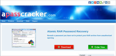 atomic rar password recovery
