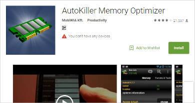 AutoKiller Memory Optimizer
