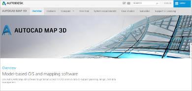 autocad map 3d most popular software
